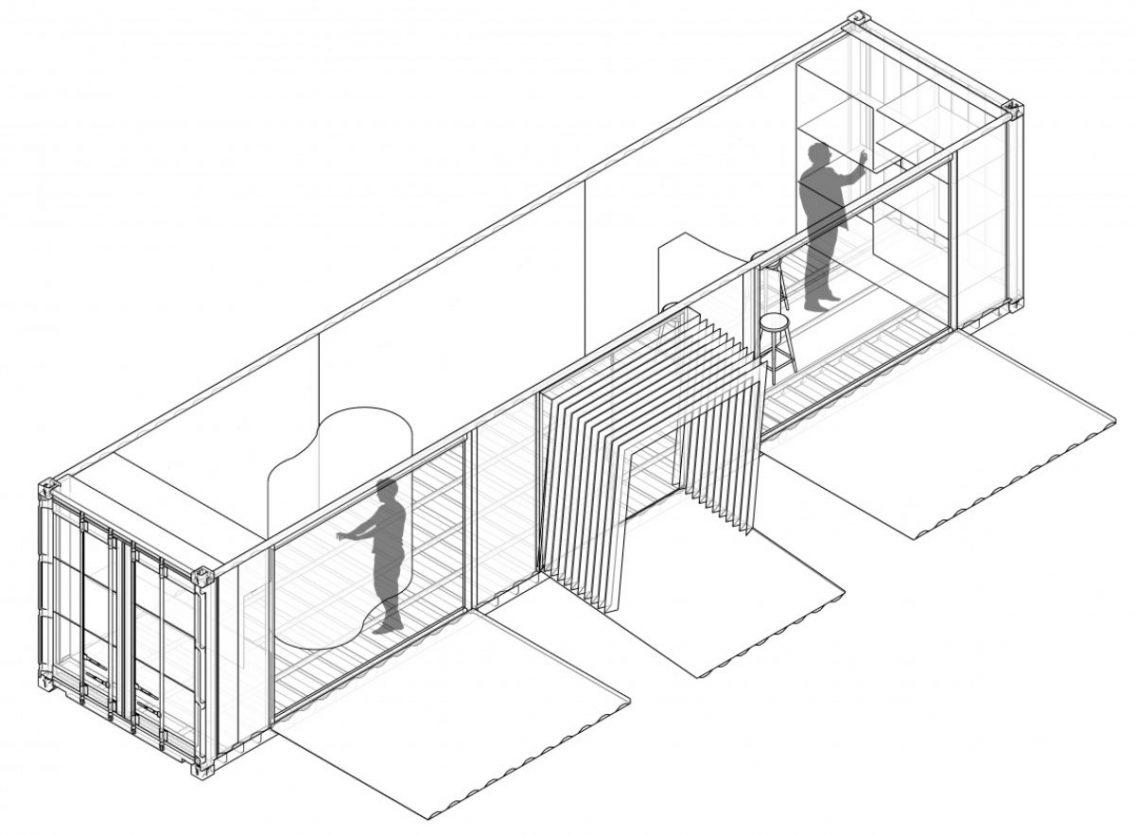 Aménagement d'un espace médicalisé mobile – Espass