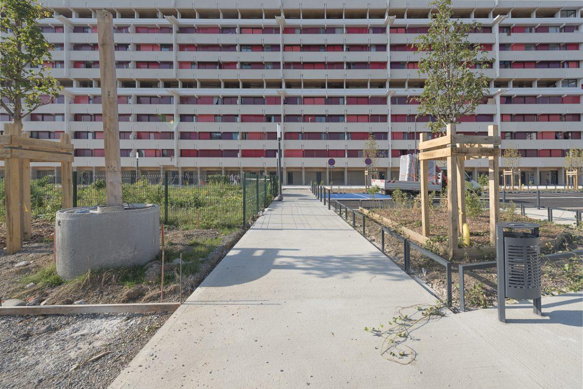 Immeuble Erik Satie